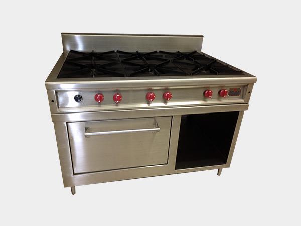 Estufas a gas equipos y hornos j s a for Mueble para estufa